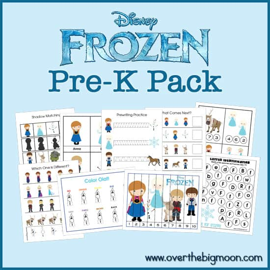 Frozen Printable Pack