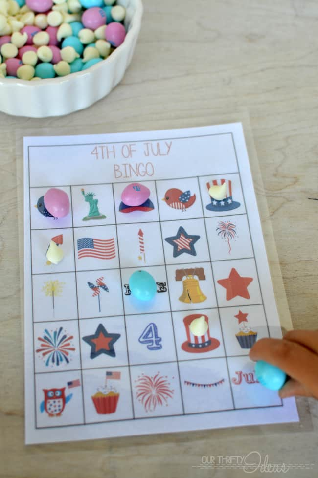 4th of July bingo
